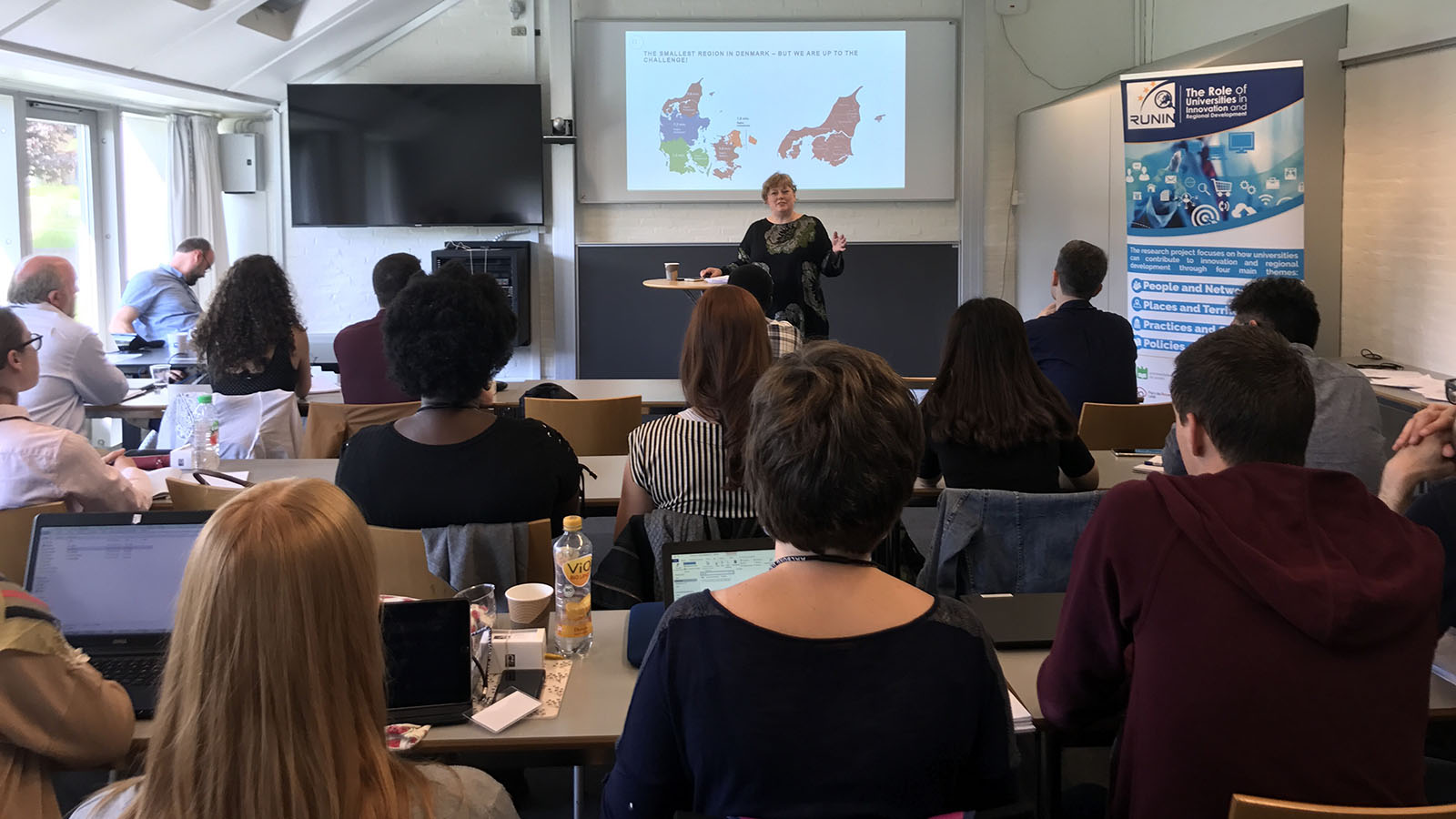 Charlotte Damborg, development consultant at North Denmark Region, on the linkages between them and Aalborg University.