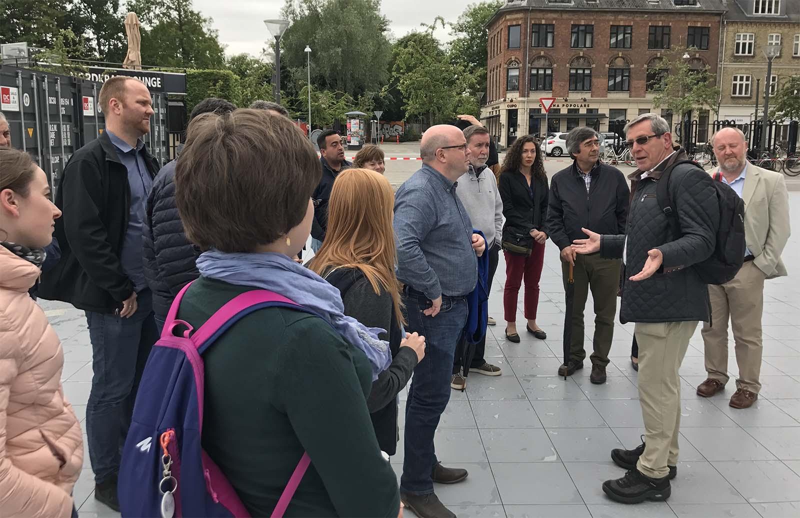 City tour of Aalborg