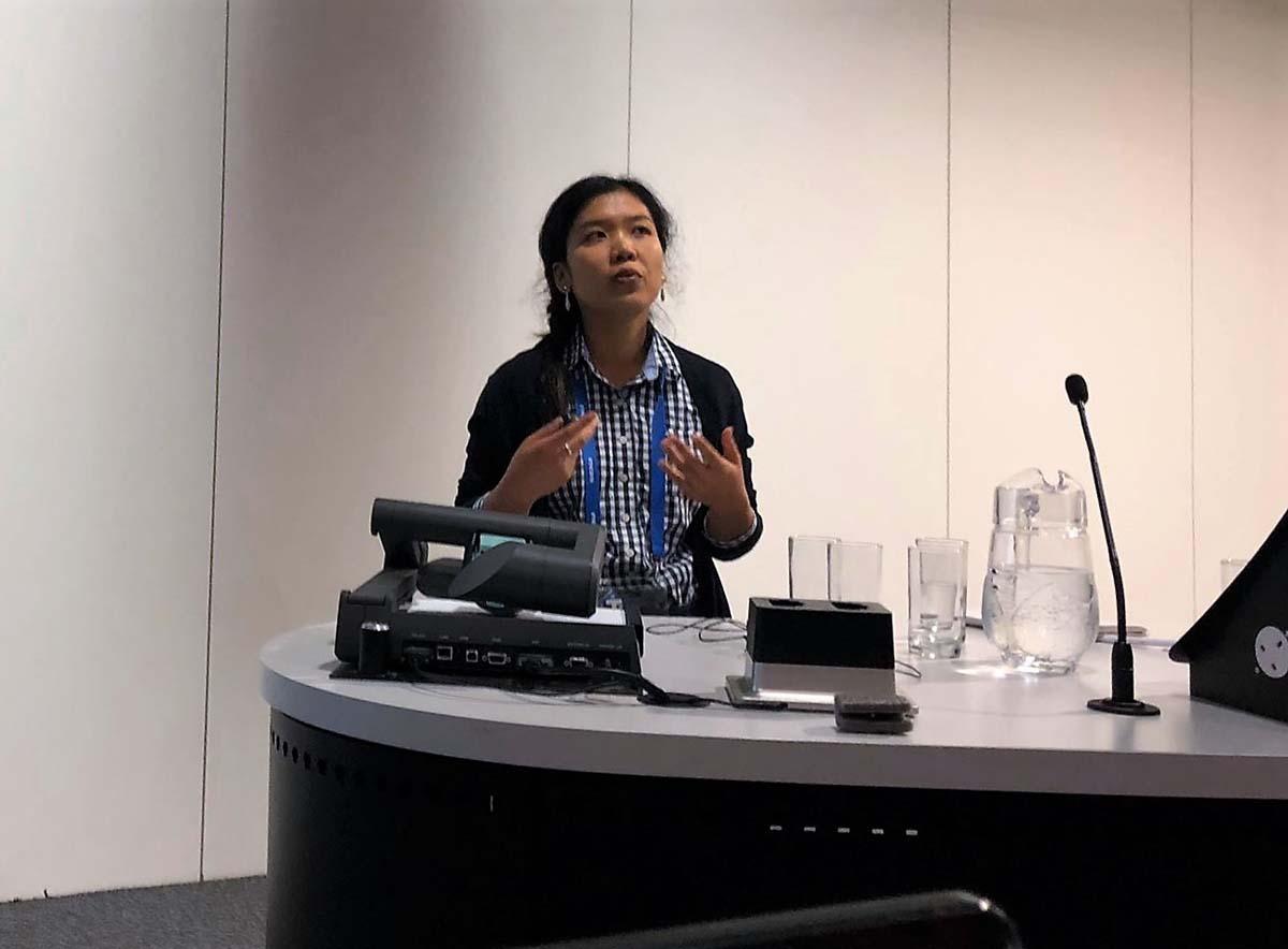 RUNIN researcher Huong Nguyen
